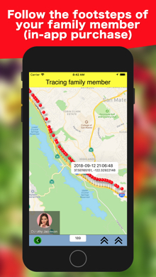 iOS Swift iPhone app Family Track Central