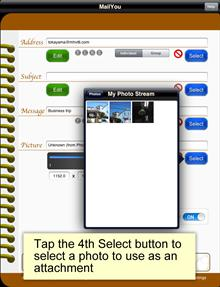 iOS software iPad MailYou