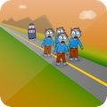iOS software game Zombievaders