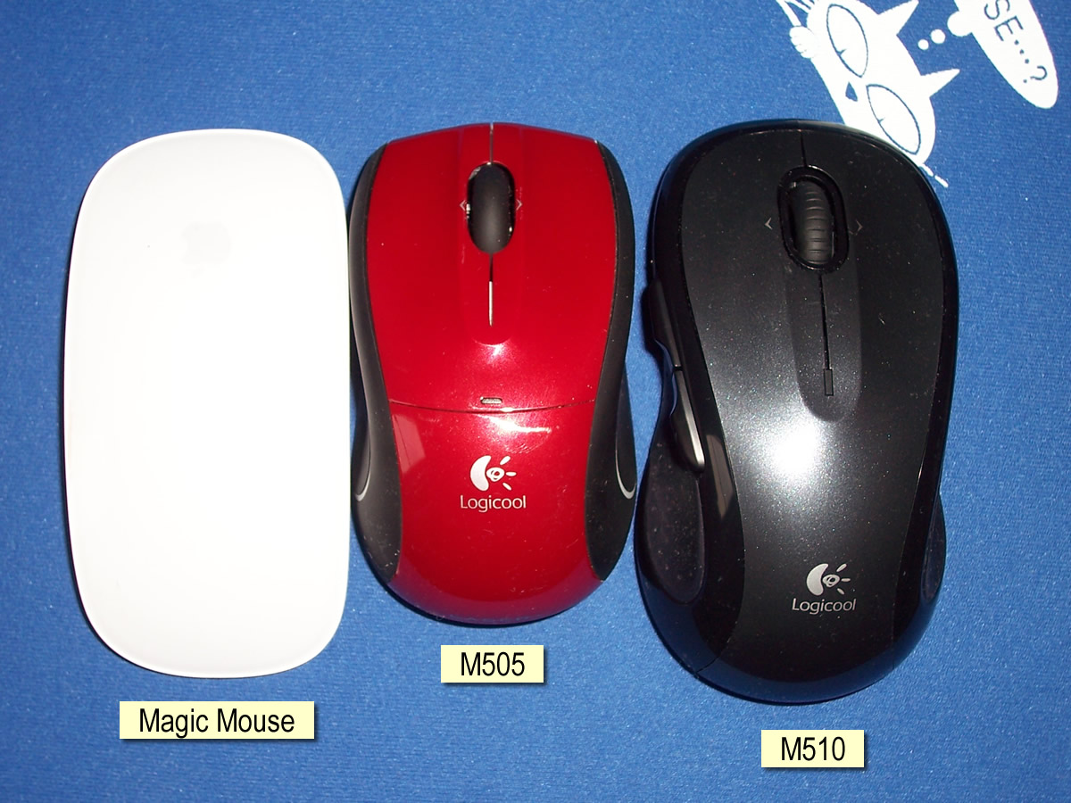 Product Review: Logitech (Logicool) Wireless Mouse M510