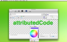 Mac software attributedCode