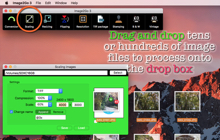 Desktop macOS application Image2Go 3