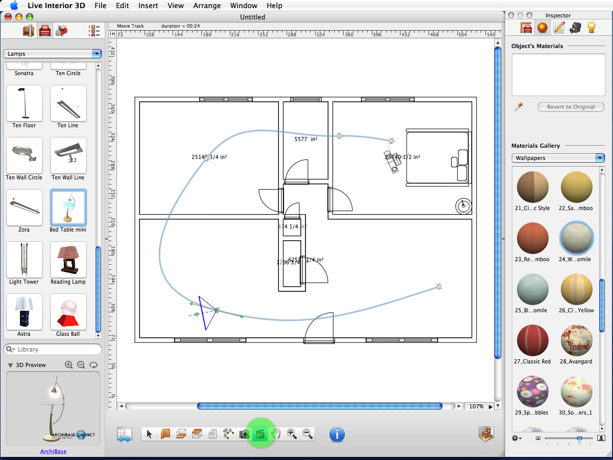 Mac Software Review Live Interior 3d 1 5 Standard Edition