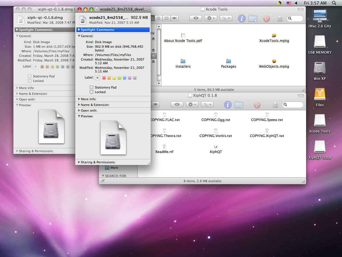 Mac Windows file share Mediafour MacDrive 7