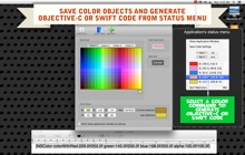 Mac software ObjColors
