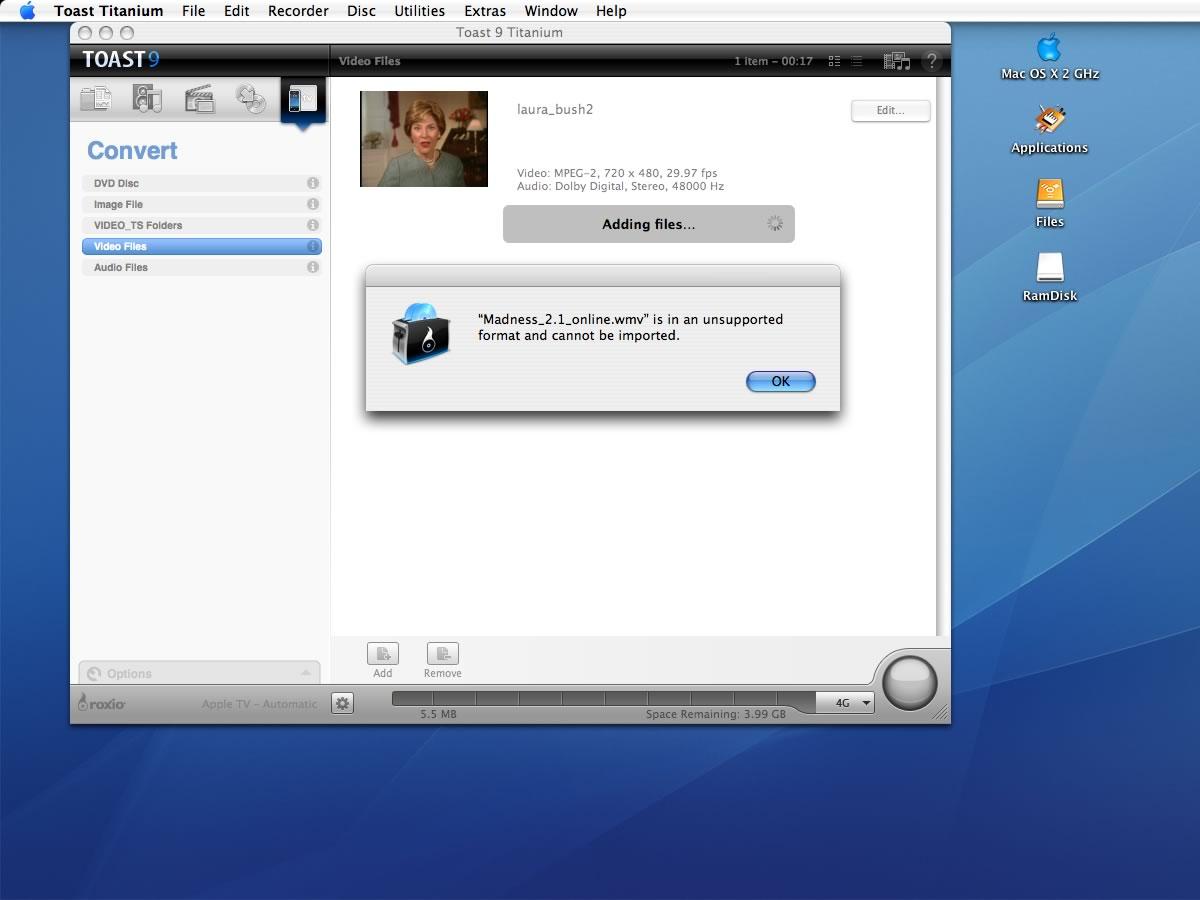 Toast Titanium Free Trial Download Mac