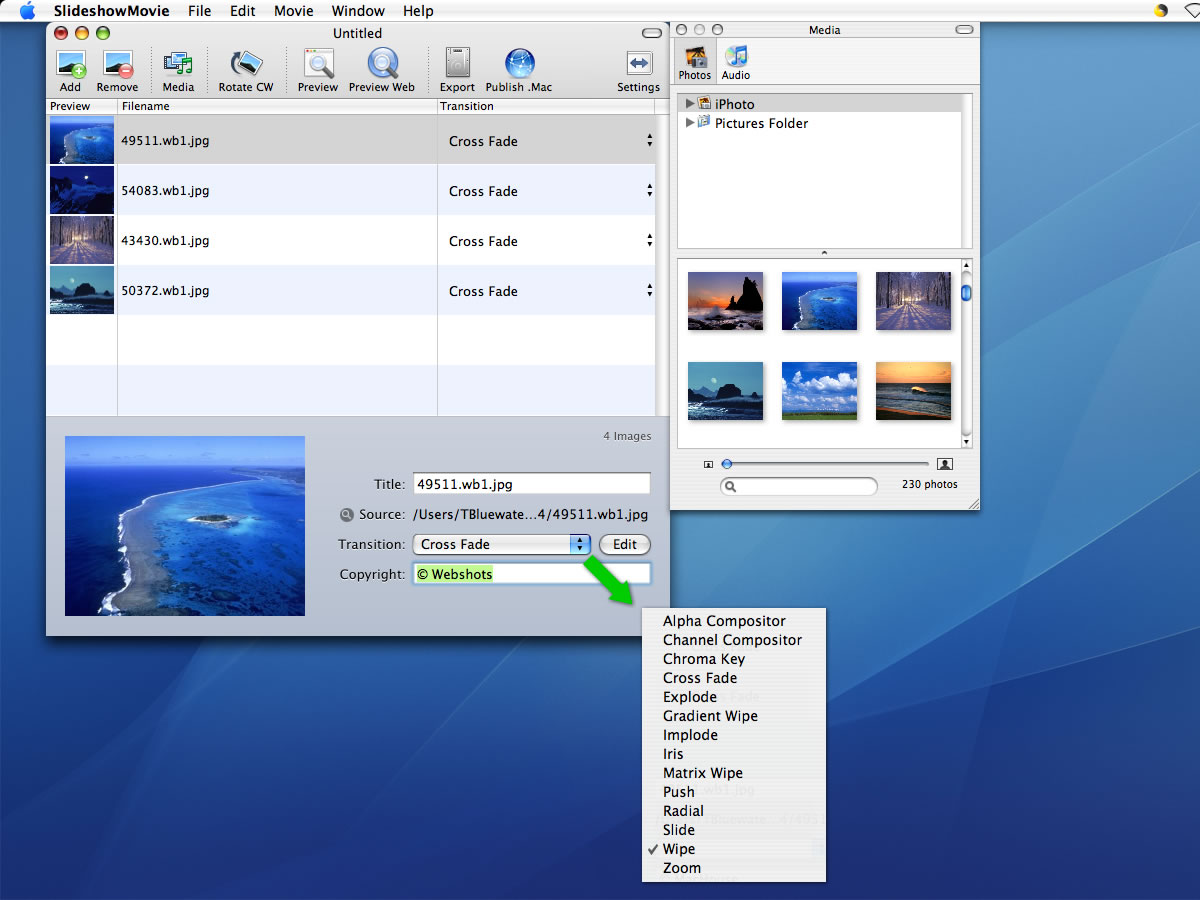 how to change photo of a movie on mac mp4