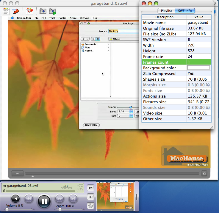 Mac Review: SWF & FLV Player PRO 3   MacHouse Blog – A ... on