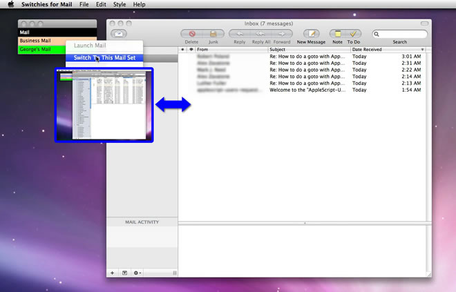 Mac software Switchies For Mail