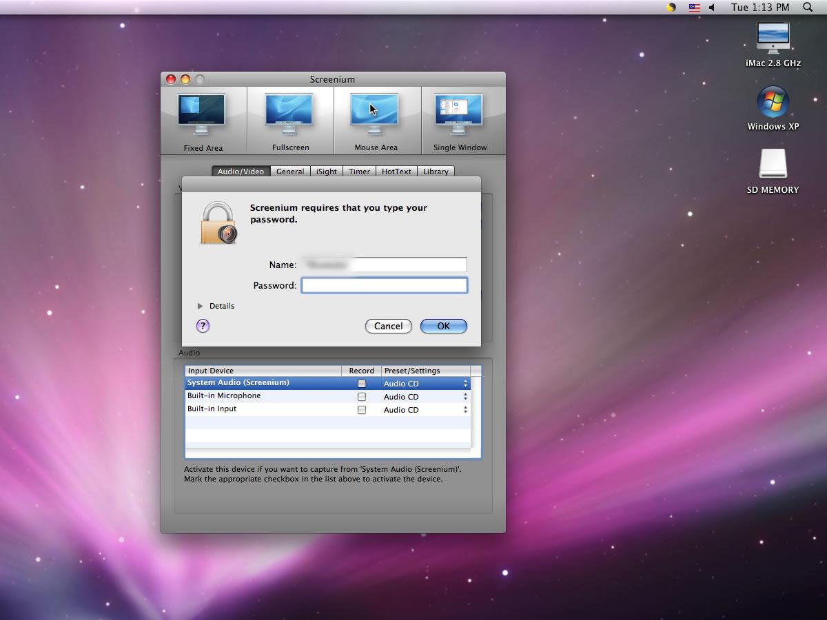 Apple Screenium