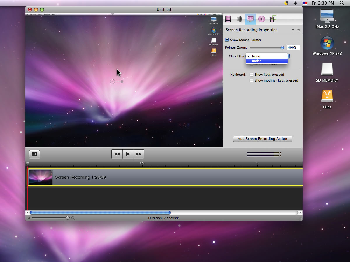 Mac software Telestream ScreenFlow