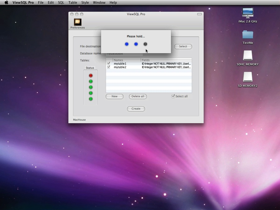 Mac software ViewSQL Pro