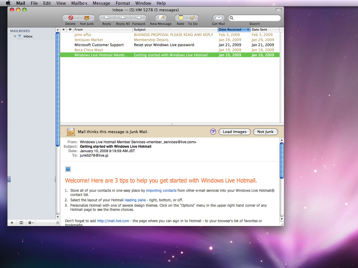 Mac E-mail Applications: Apple Mail or Microsoft's Entourage