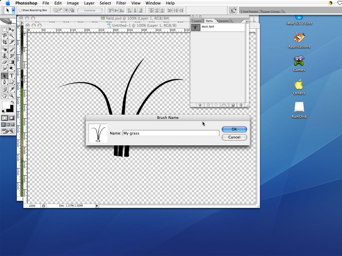 Brush tool перевод в фотошопе