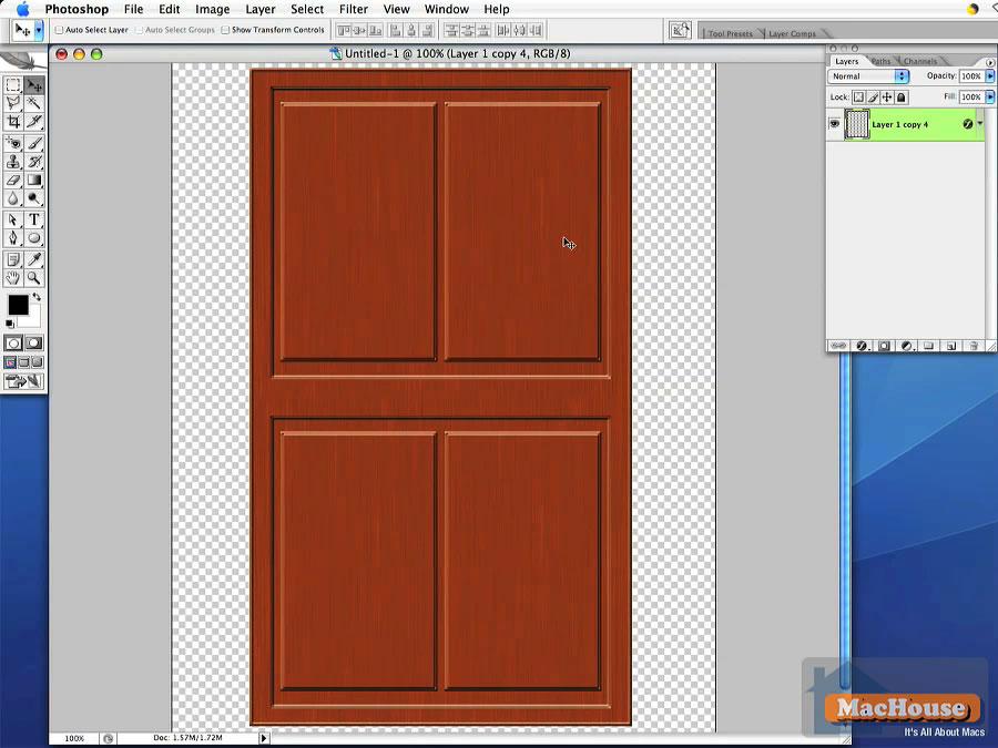 Adobe Photoshop tutorial Adobe Photoshop tutorial Adobe Photoshop tutorial  sc 1 st  MacHouse & Adobe Photoshop Very Simple Tutorial: Designing an Interior Door ...
