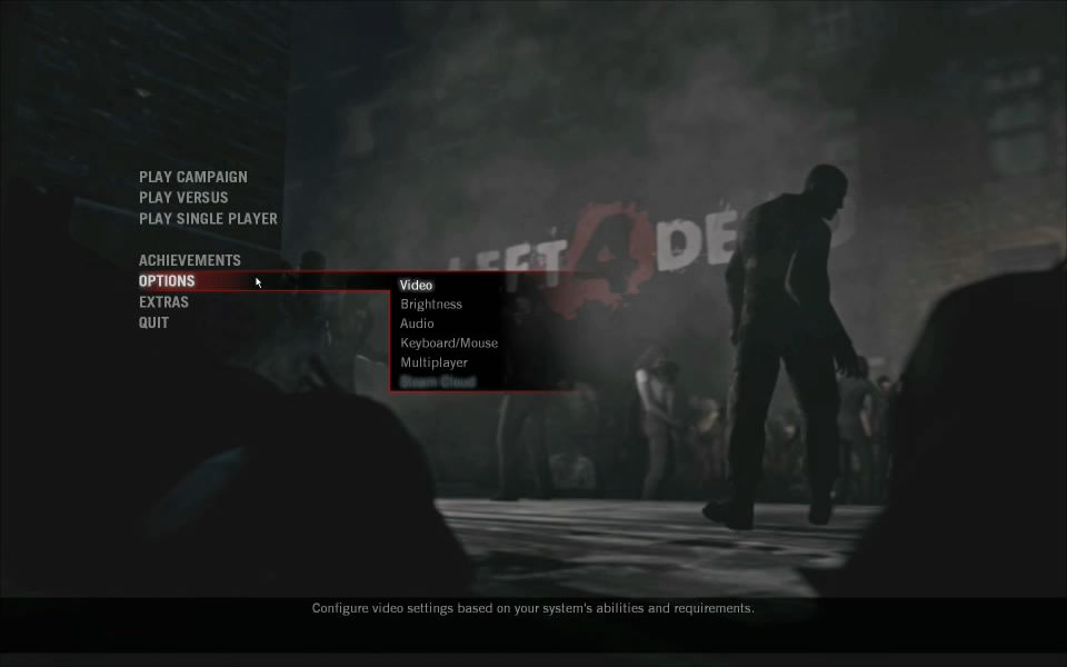 Left 4 Dead – Game Review, Playing Left 4 Dead with Mac Boot Camp